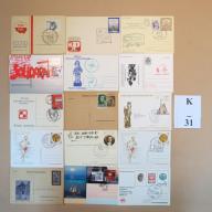 Karty pocztowe kas. okol. MIX BCM!! (K31)