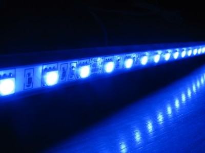 Nocne Oświetlenie Led Akwarium Niebieski 80 Cm 6844865975