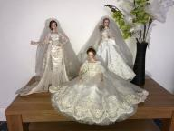 452-454 Lalka porcelanowa panny mlode ASHTON DRAK