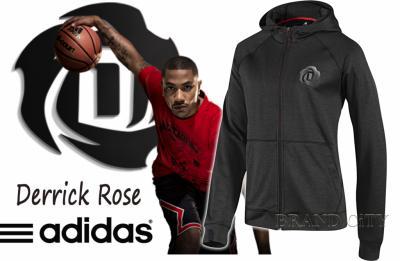 BLUZA ADIDAS DERRICK ROSE FULL ZIP HOODY NBA 3XL