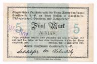 Śląsk Wrocław notgeld 1918 st. 1 UNC