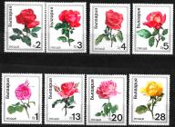 Bułgaria czysta seria Mi 1999 - 2006 super róże.