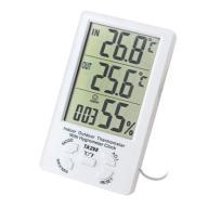 Termometr cyfrowy  wewnątrz i zewnątrz
