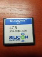 SSD-C04G-3500 4GB SiliconDrive CF