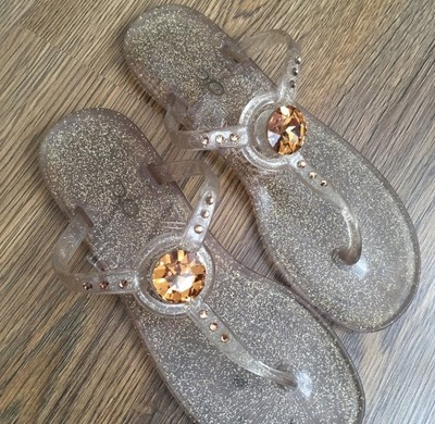 ALDO Piękne Japonki z Kamieniem Swarovski crystal