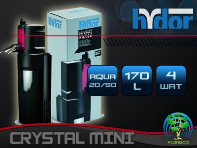 HYDOR CRISTAL MINI filtr wewnętrzny 20-50l HIT!