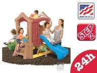 Mini Plac Zabaw z 2 zjeżdżalniami Step 2 Play U