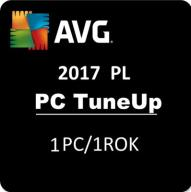 AVG PC TuneUp 1PC/1rok 2017 PL FV od Partnera AVG