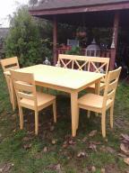 Zestaw Kuchenny Stół krzesła ławka