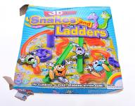 5786-25 ...3D ACTION... m#d GRA SNAKES AND LADDERS
