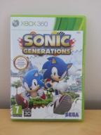 SONIC GENERATIONS XBOX 360 STAN BDB SKLEP