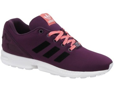 buty adidas zx flux fioletowe