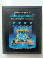 cartridge # video pinball # Atari VCS 2600