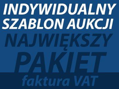 INDYWIDUALNY SZABLON AUKCJI FVAT NAJWIĘKSZY PAKIET