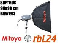 Softbox Mitoya 90x90 cm Bowens Kraków