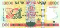 UGANDA 10000 Shillings 2009 P-45 UNC