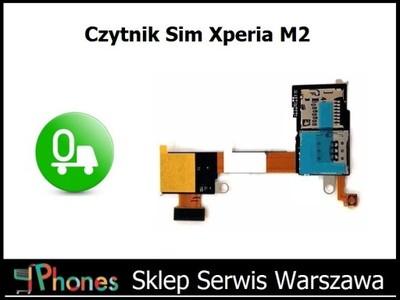 Czytnik Kart Sim Sony Xperia M2 Aqua D2403 Wwa 5921863396