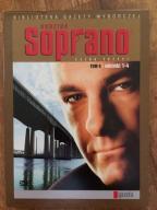 Rodzina Soprano sezon 3 odcinki 1-4 PL DVD