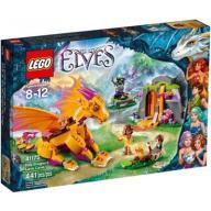 Jaskinia Smoka Ognia 441el Klocki LEGO Elves 41175