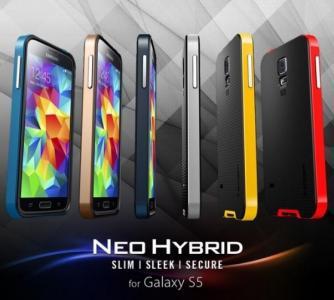 Etui SGP Spigen Neo Hybrid Samsung Galaxy S5 Folia