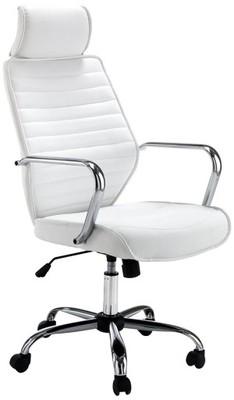 Krzesło biurowe białe obrotowe Tomasucci Mi59