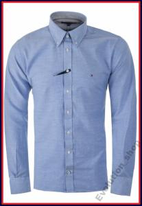 a59a85407fa10 Nowy Model Koszula Tommy Hilfiger Wyprzedaż L - 4640970113 ...