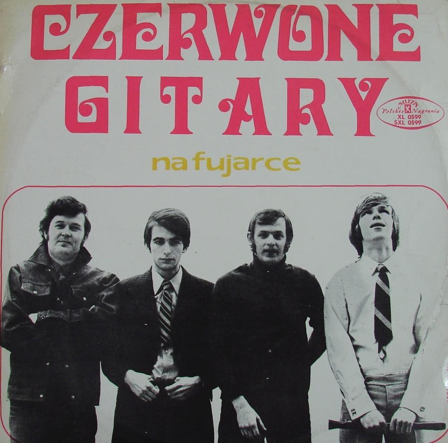 CZERWONE GITARY - Na Fujarce - (1970 r.)