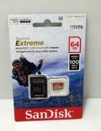 SANDISK 64 GB100 MB/S NOWA