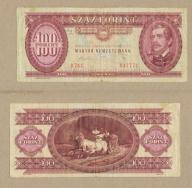 WĘGRY 100 FORINT 1989 r.