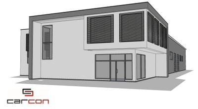Projekt i budowa Biurowca i hali produkcyjnej HALA