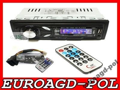 R11N RADIO SAMOCHODOWE MP3 USB AUX SD PILOT 4x50W