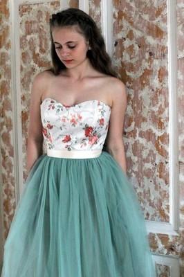 4b9c512d677d65 Sukienka koktajlowa tiulowa WESELE studniówka S - 6909852698 ...