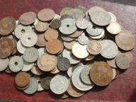 Wykopki do 1945r-140 sztuk starych monet