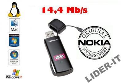 NOWY MODEM USB 3G NOKIA CS-17 14Mb/s AERO2 GW FV
