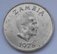1978r. - Zambia - 5 Ngwee