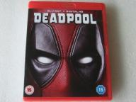 DEADPOOL BLU-RAY DISC UK 2015 IDEAŁ