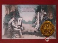 1909,Malarz,Ręcznie Kolor.Lux,A1972