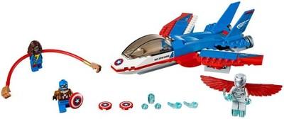 KLOCKI LEGO Super Heroes 76076 Odrzutowiec Kapitan