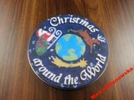 CD - CHRISTMAS AROUND THE WORLD - METAL BOX