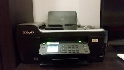 urządzenie Lexmark Pro drukarka ksero +tusze Kolor