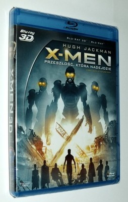 X-MEN: PRZESZŁOŚĆ, KTÓRA NADEJDZIE (BLU-RAY 3D+2D)