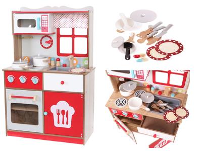 Kuchnia Drewniana Z Wyposazeniem Ecotoys Gratis D 6614940256