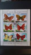 Korea Północna bloczek motyle