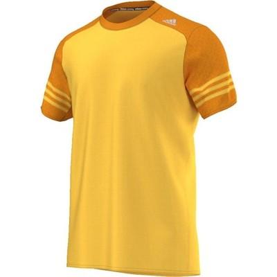 Koszulka adidas Response SS Tee AI8207 żółty m