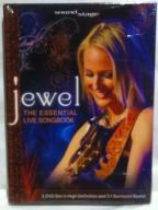JEWEL - THE ESSENTIAL LIVE SONGBOOK 2DVD! FOLIA!