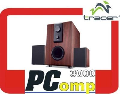 Drewniane głośniki do komputera Tracer City 2+1