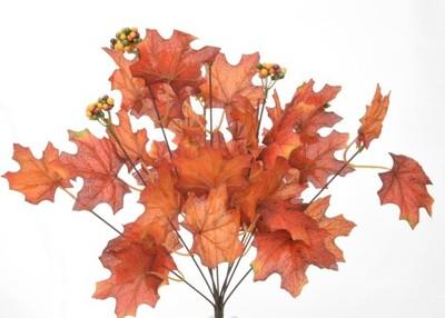 Liscie Klonu Bukiet Jesienne Sztuczne Kwiaty 6921882068 Oficjalne Archiwum Allegro
