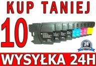 10 TUSZE DO BROTHER 375CW LC1100 DCP-145C DCP165C