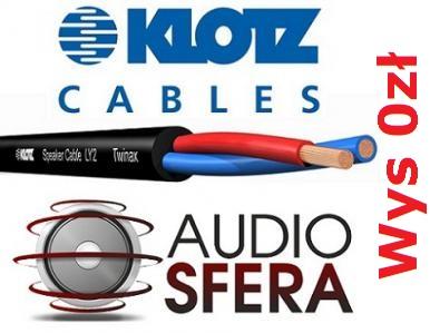 KLOTZ LY215 2x1,5mm Kabel Głośnikowy Przewód PROMO