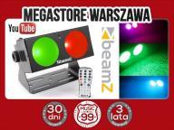 BARDZO MOCNY BLINDER LED 2x 10W LED RGB DMX +PILOT